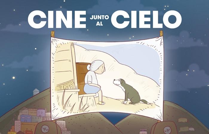 cine junto al cielo imagen